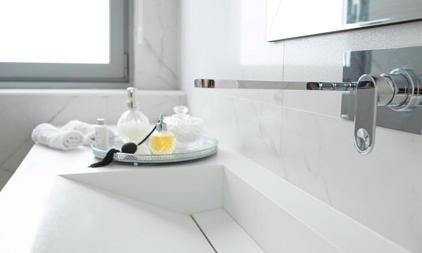 משטח קוריאן לחדרי אמבטיה