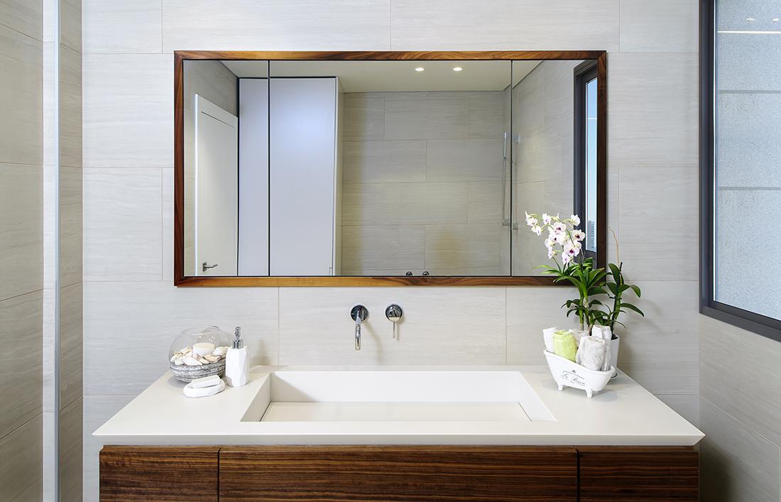 עיצוב מיוחד של כיור קוריאן לבן